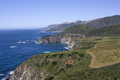 JenniGrant, 2010 (Jenni Grant) Tags: ocean california ca bridge summer northerncalifornia landscape coast pacific bigsur cliffs pch highway1