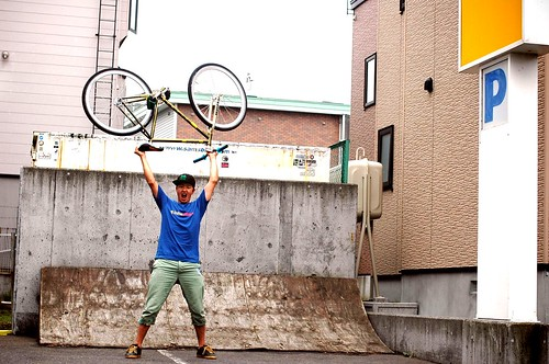 WALL RIDEメイク後