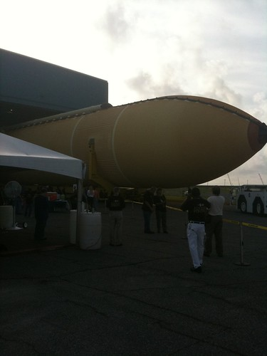 External Tank ET-138 Rolls Out at Michoud Assembly Facility