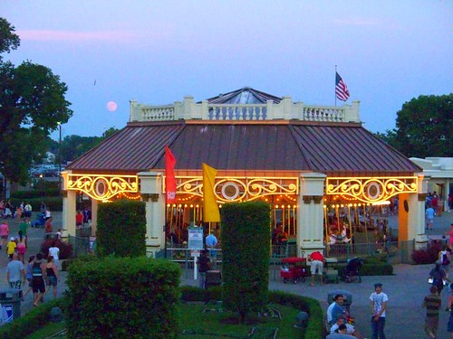 Cedar Point - Moon over the Midway Carousel