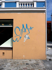 Tags in Bergen 2010 (kami68k [-allover-]) Tags: graffiti tag tags cm illegal bergen tagging 2010 handstyles handstyle