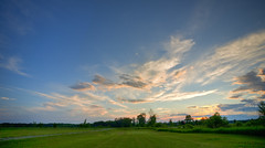 Northern Michigan Summer Sunset HDR (hz536n/George Thomas) Tags: sunset summer sky lab michigan july canon5d upnorth hdr prescott 2010 smörgåsbord labcolor ef1740mmf4lusm hdrphotomatix ogemawcounty ogemaw cs5