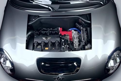 Hybrid Getrag Hybrid MINI Democar car