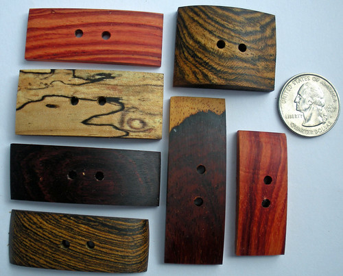 Wooden Treasures buttons 070910 (6)