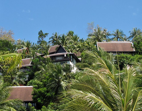 Baan Taling Ngam Resort from Beach