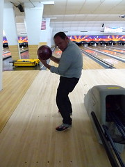 Derek shows his excellent form