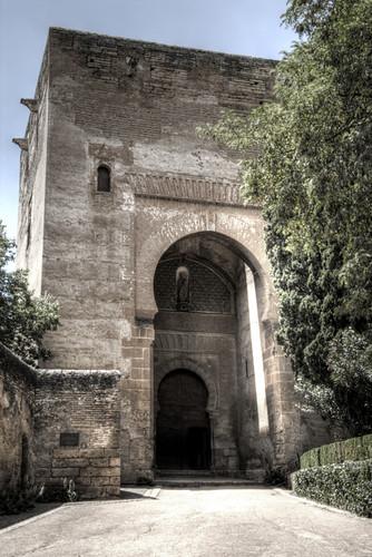 Wine gate. Alhambra, Granada. Puerta del vino.