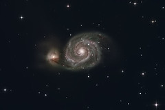 M51-LRGB (collirob) Tags: m51 sv105 Astrometrydotnet:status=solved Astrometrydotnet:version=14400 oriondsmiiii Astrometrydotnet:id=alpha20100950440529