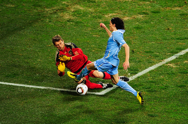 Mundial Sudáfrica Alemania Uruguay Edinson Cavani