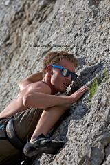 Rock Climber Bart Young (Daryl L. Hunter - Hole Picture Photo Safaris) Tags: park butte grandteton jacksonhole blacktail rockclimberbartyoung climbinggrandtetonparkholejacksonmountaineeringrockgrandtetonparkblacktailbuttejacksonholewyomingunitedstatesof