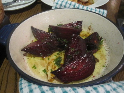 Roasted beets at Brasserie T