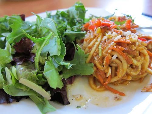 OrganicLives zucchini spaghettini