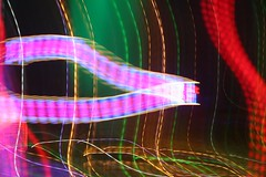 Recoiling Ribbon (cowyeow) Tags: light strange weird freaky illusion trippy lighteffects lighttrail