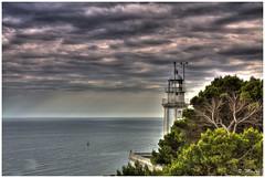 Lighthouse (Mauro Taini) Tags: sea sky espaa tree water clouds canon sigma hdr cokin p121 eos450d magicofnature sigma18200dcos