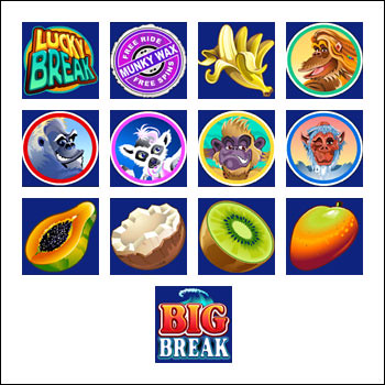 free Big Break slot game symbols