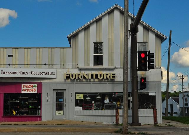 Store front in Cedar Rapids