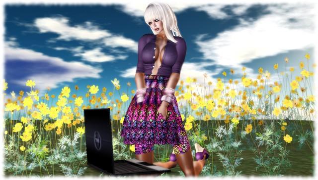 Jardin de Fleurs Skirt 2