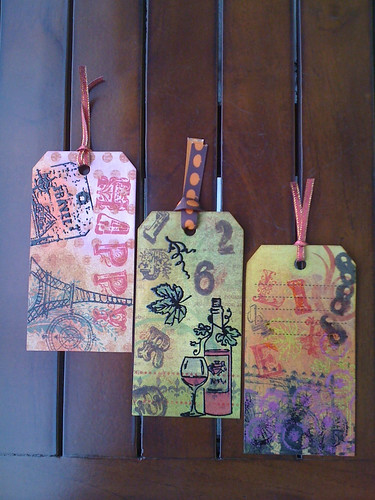 Vintage... Tags or Bookmarks