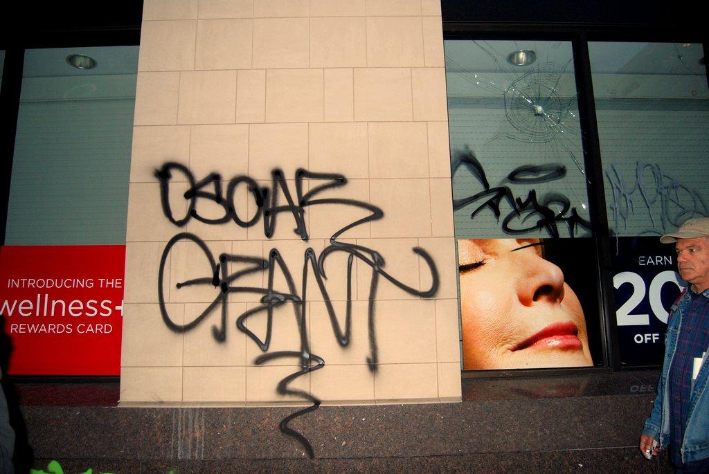 Oscar Grant Oakland Riot.