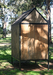20100711_7291 Hut by Karen Ward (williewonker) Tags: australia victoria hut mansion werribee wyndham helenlempriere karenward werribeepark helenlemprierenationalsculpturalaward nationalsculpturalaward