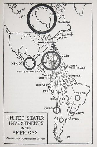 Map Chart in Dollar Diplomacy