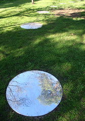 20100711_7294 Meniscii by Julia Davis (williewonker) Tags: circle mirror australia victoria round mansion werribee wyndham helenlempriere werribeepark juliadavis meniscii helenlemprierenationalsculpturalaward nationalsculpturalaward