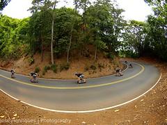 KJ @ 13 Turns (Jos Henriques | Photography) Tags: turn photoshop hawaii oahu olympus fisheye skate longboard skateboard 13 zuiko speedboard e510 deathturn