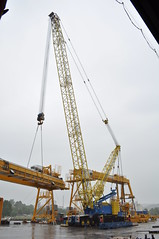 066 (NikooliX / A I Nikolis) Tags: mobile crane mobil boom sl tc 1200 kran lattice faun demag mobilkran tc1200 havator fackverkskran
