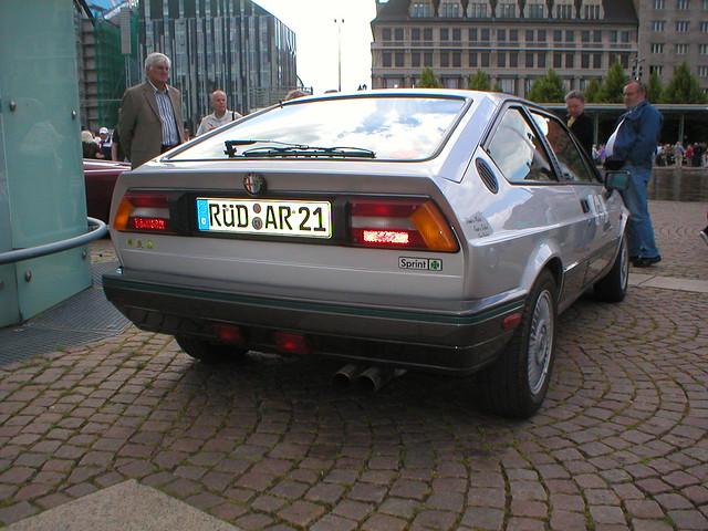 The Alfa Romeo Alfasud Sprint (1976 - 1983) or Sprint (1983 - 1987) is the