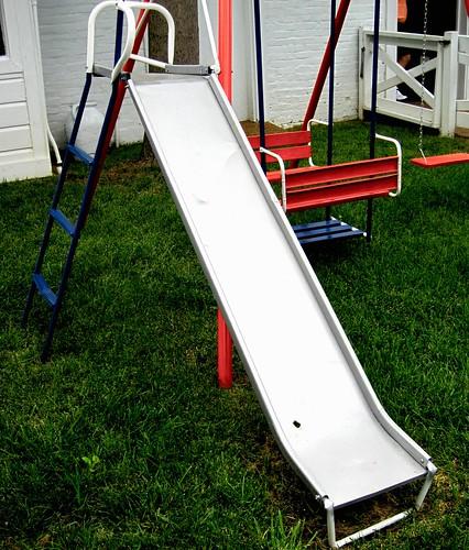 Metal slide!