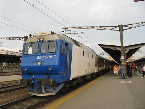 Estação de comboios de Bucareste, Roménia