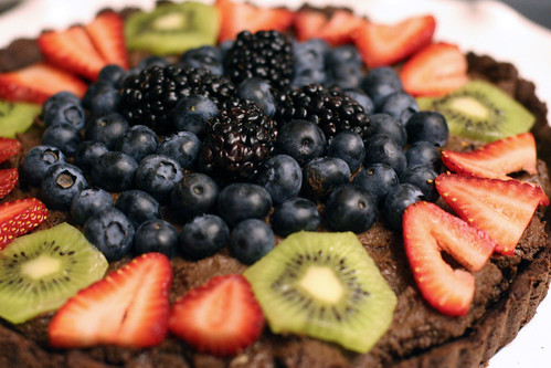 Chocolate Fruit Tart