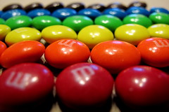 M&Ms Sorted by Color (Mr.TinDC) Tags: food colors dessert mms candy chocolate explore ocd organized sorted sorting explored