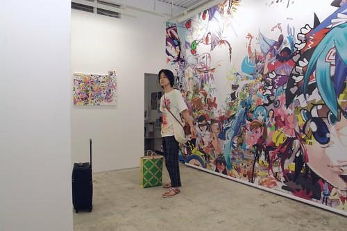 "Kazuki UMEZAWA (umelabo) in ""Beautiful Image Core"""