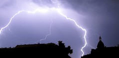 iced claw ( bionerd ) Tags: storm berlin weather fire video hurricane thunderstorm lightning blitz strikes thunder wetter donner unwetter einschlag