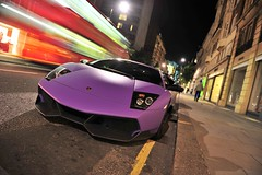 Superveloce. (Luke Alexander Gilbertson) Tags: black slr matt mercedes benz nikon raw purple 4 s mclaren lamborghini f28 v8 sv 62 sls amg supercharged roadster murcielago v12 722 2470 lp640 laborghini d700 superveloce lp670