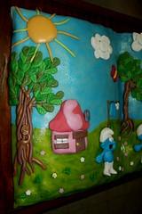 Smurfs book :D (pwlguinha1) Tags: cake children smurfs