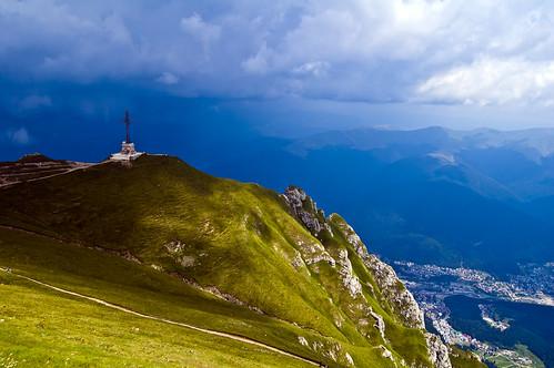 On top of Romania
