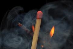 Fire and smoke, Explored! (Ianmoran1970) Tags: wood orange wow fire smoke explore burn heat match sulphur stick matchstick ignition explored sooc ianmoran macromondays lightingamatchbutnotbystriking ianmoran1970