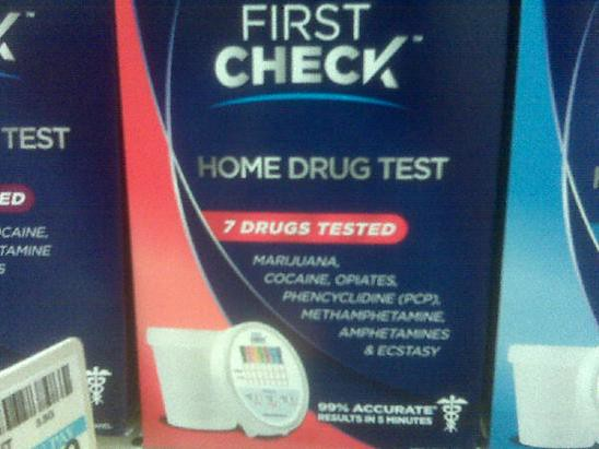 home drug test?!?!