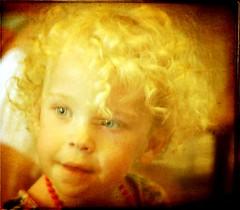 Angel Curls (Cheryl Atkins) Tags: portrait texture vintage beads littlegirl blondecurls brendastarr borealnz canon7d