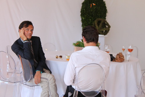 Matthew Williamson @ The Veuve Cliquot Gold Cup