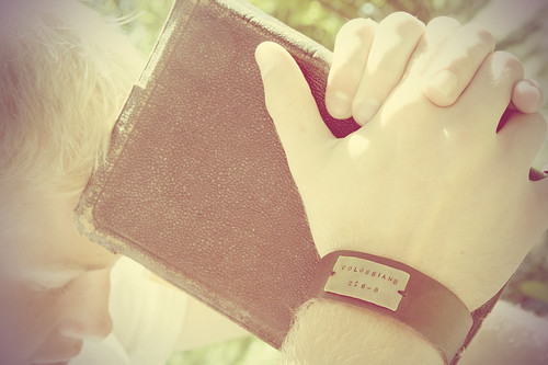 wide leather cuff