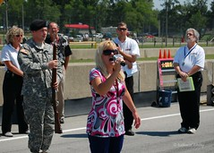 Anthem Singer (nwritchey) Tags: ama pitwalk prerace midohio hondasupercycleweekend anthemsinger
