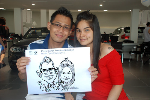Caricature live sketching for Performance Premium Selection BMW - Day 4 - 12