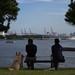 湾岸風景の観賞