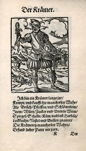 025-El buhonero-Ständebuch 1568-Jost Amman-Hans Sachs