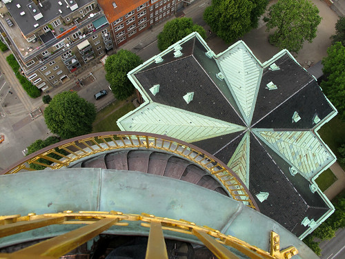 View from the Spiral - Copenhagen, Denmark