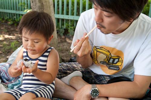 西猪名公園で夏気分を満喫!