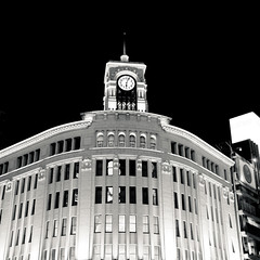 DSC_5879.jpg (ntstnori) Tags: clock architecture tokyo ginza  chuo